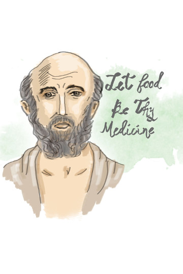 Hippocrates - Let Food Be Thy Medicine